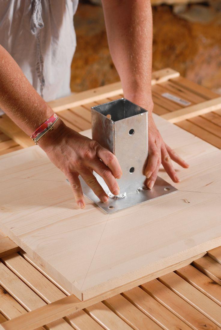 Créer Une Table De Jardin | Diy Family - #créer #de #diy ... destiné Casa Table De Jardin
