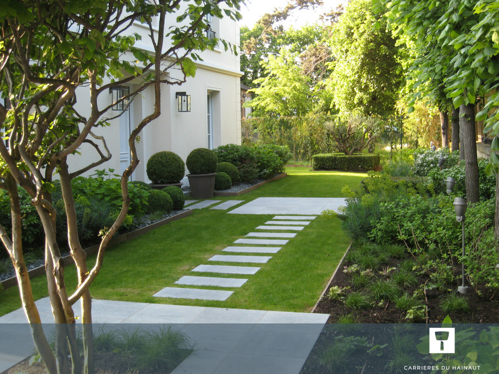Créez Des Liens Entre Les Espaces Du Jardin Grâce À Une ... tout Aménagement Jardin Hainaut