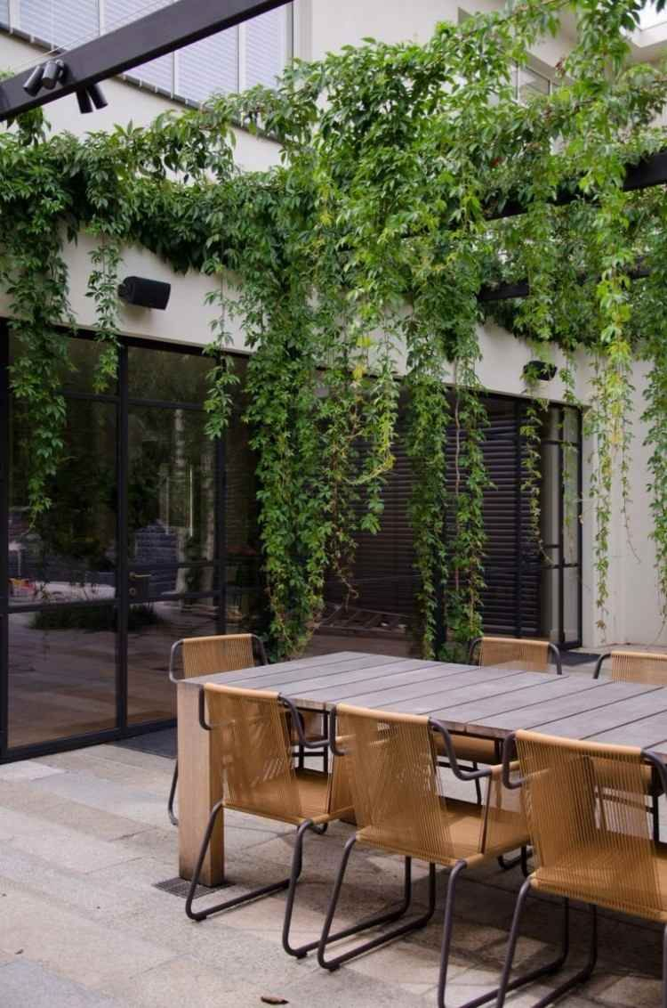Déco Style Industriel Au Jardin : 30+ Idées Pour La Faire ... à Salon De Jardin Casa