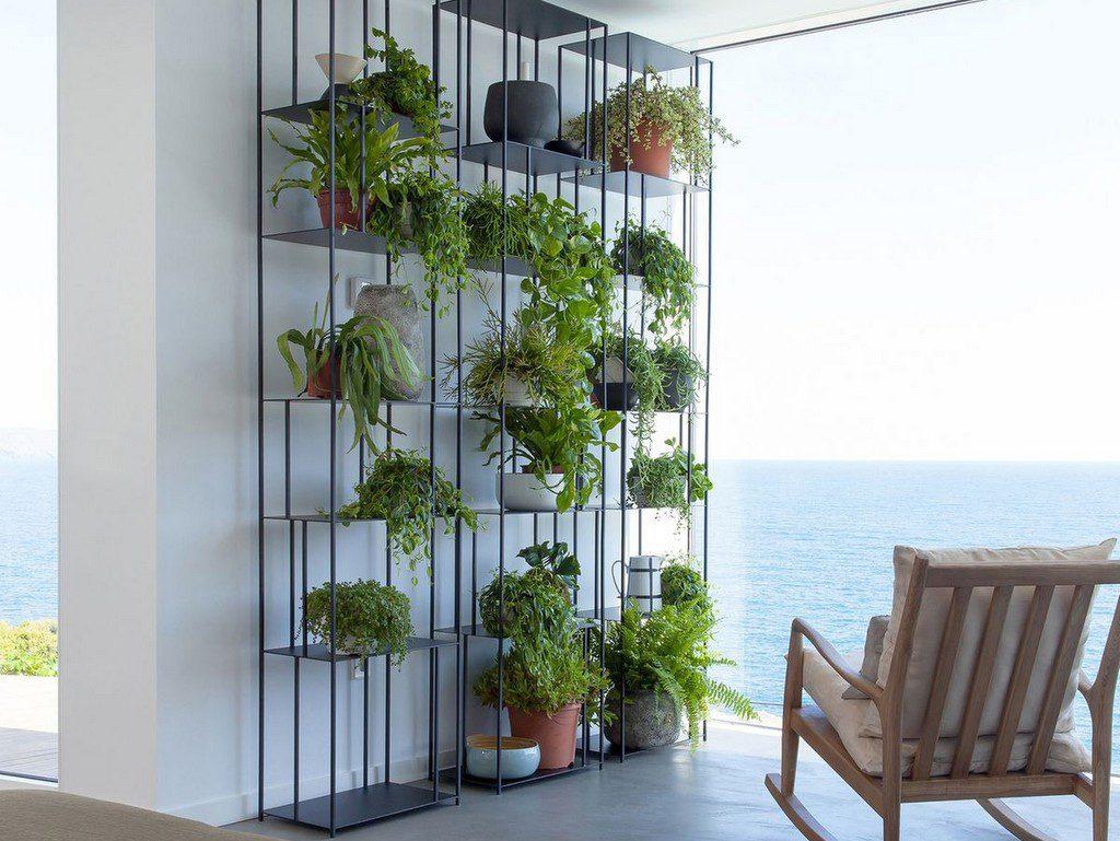 Décoration Végétale : Des Idées Inspirantes Pour Votre ... tout Etagere De Jardin Pour Plantes