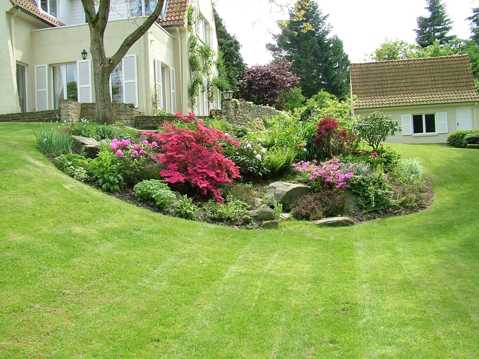 Decorative Embankments - Jpm Design Sprl   Jardin En Pente ... pour Aménagement Jardin Hainaut