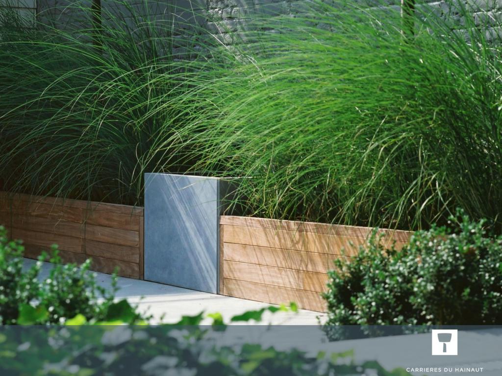 Délimitez Vos Espaces Extérieurs Avec D'élégantes Dalles En ... pour Aménagement Jardin Hainaut