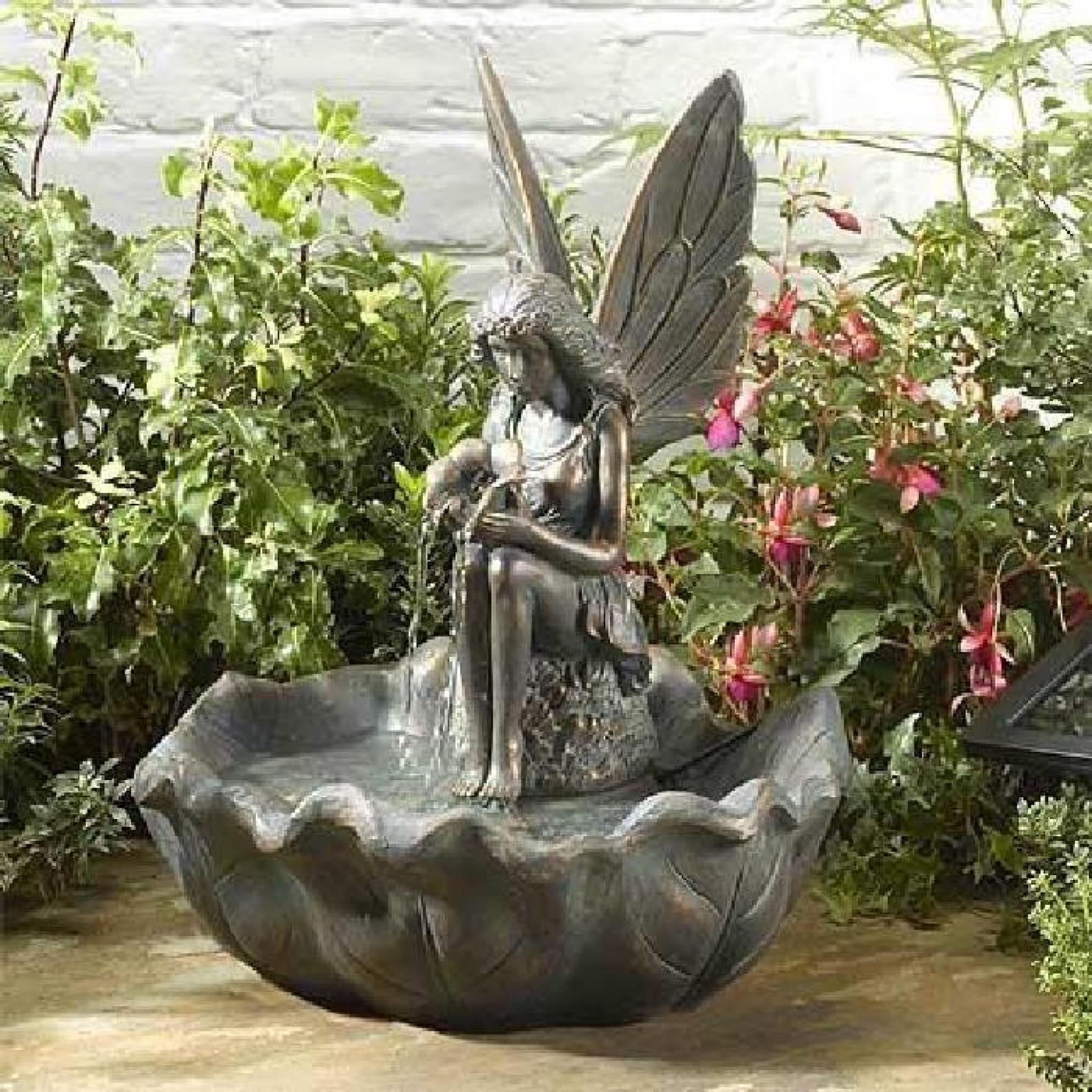 Fontaine Solaire Elfe intérieur Fontaine Solaire Exterieur Jardin