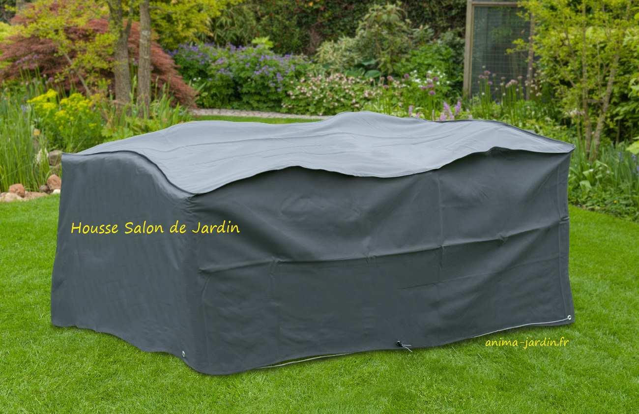 Housse De Protection Salon De Jardin, Table Rectangulaire ... intérieur Housse Table Jardin Rectangulaire