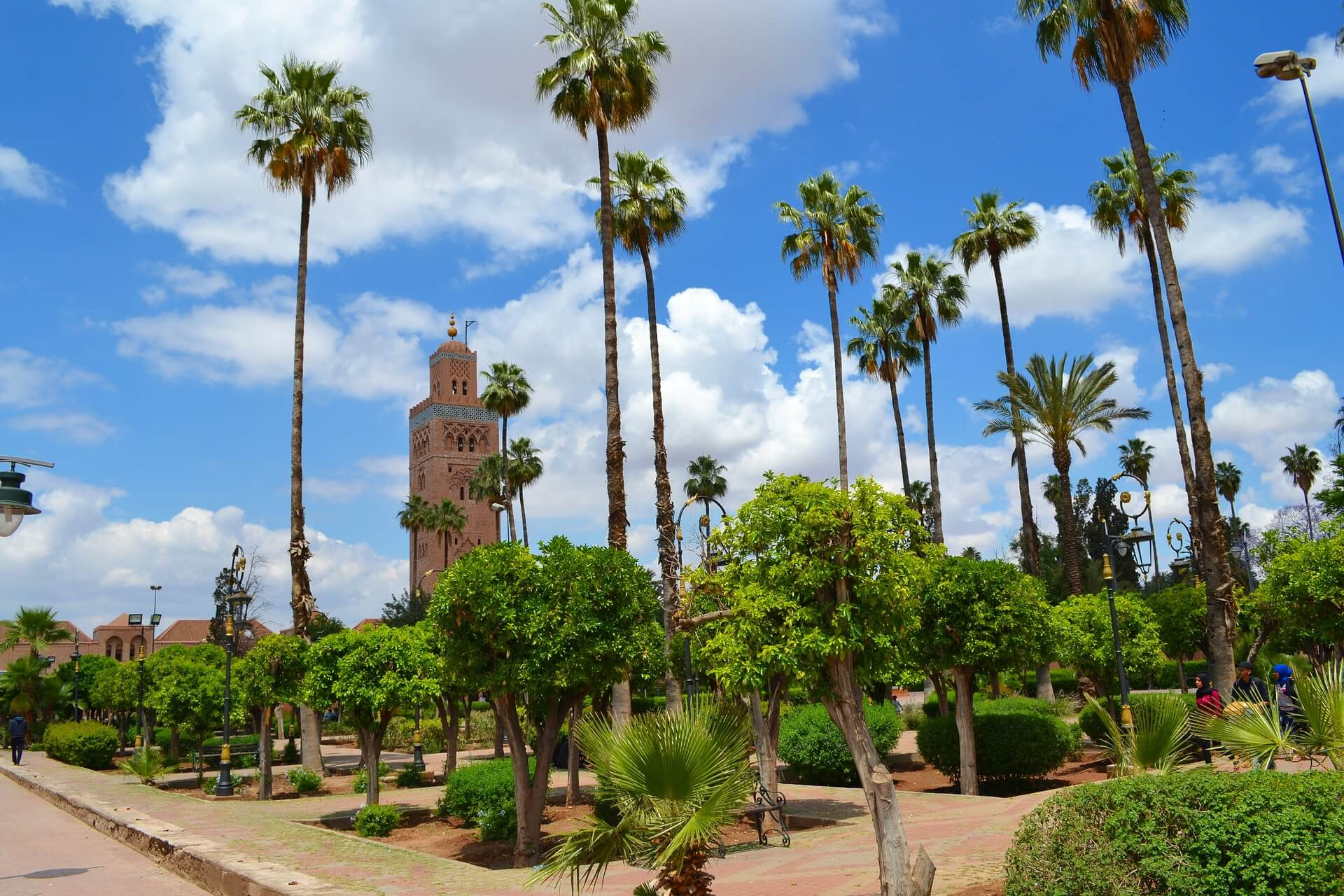 Jardin-Koutoubia - Visiter Marrakech concernant Jardin De La Koutoubia