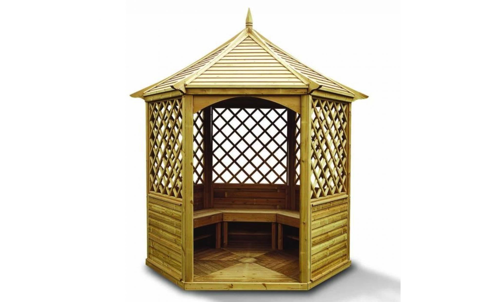Kiosque De Jardin En Bois Pas Cher - Idees Conception Jardin | Idees Conception Jardin
