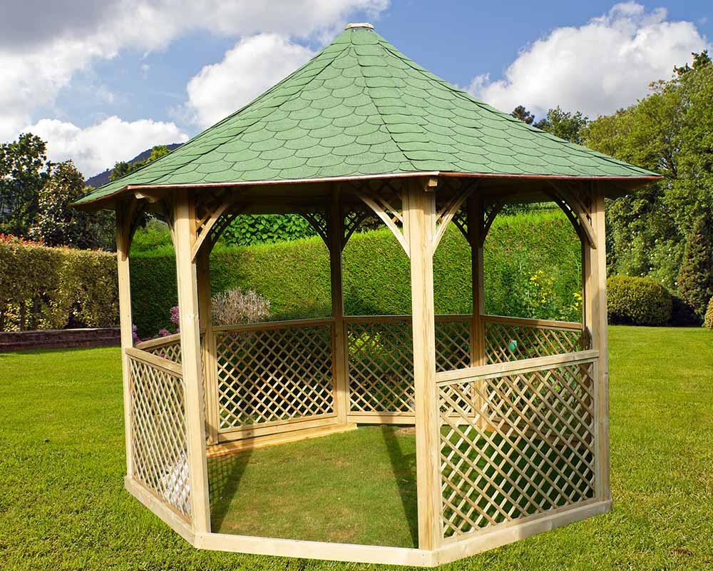 Kiosque Aluminium Jardin - Idees Conception Jardin | Idees Conception Jardin