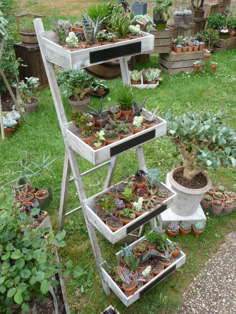 Le Jardin Des Truculentes » Paris Côté Jardin dedans Etagere De Jardin Pour Plantes