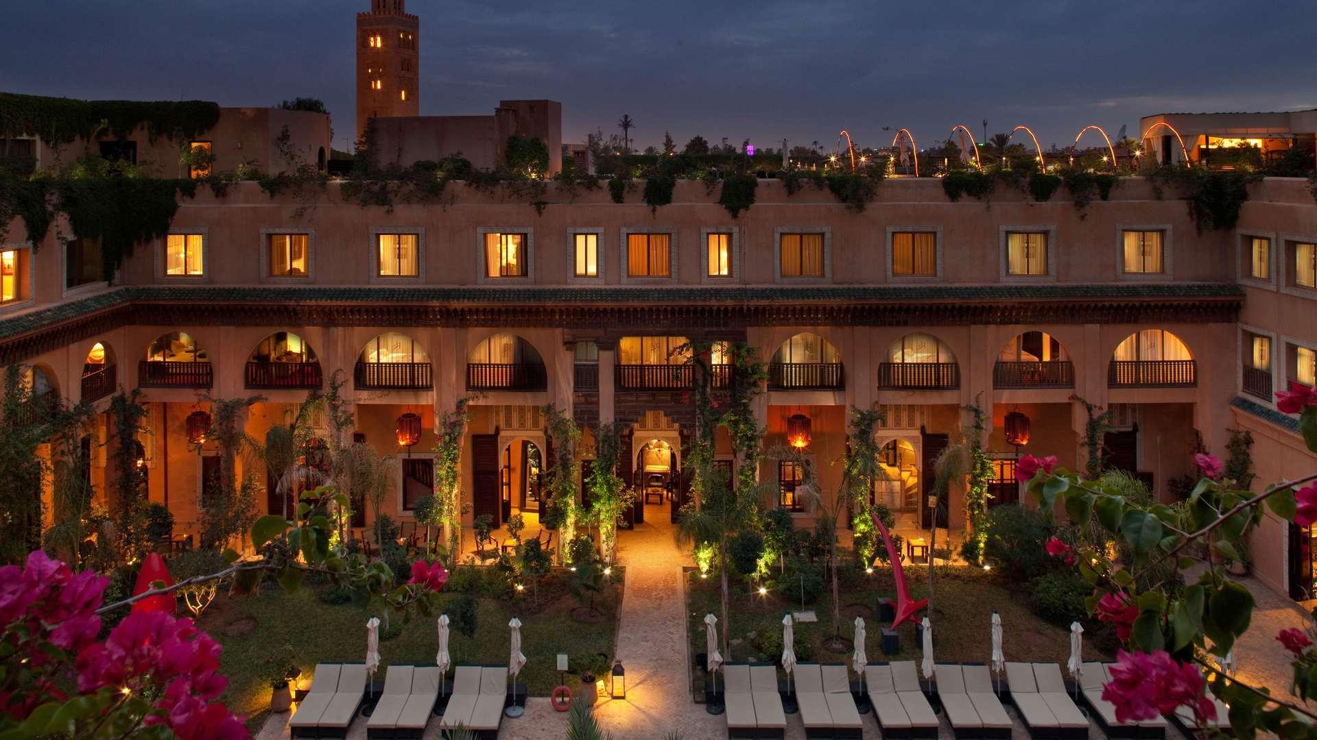 Les Jardins De La Koutoubia | A Kuoni Hotel In Marrakech serapportantà Jardin De La Koutoubia
