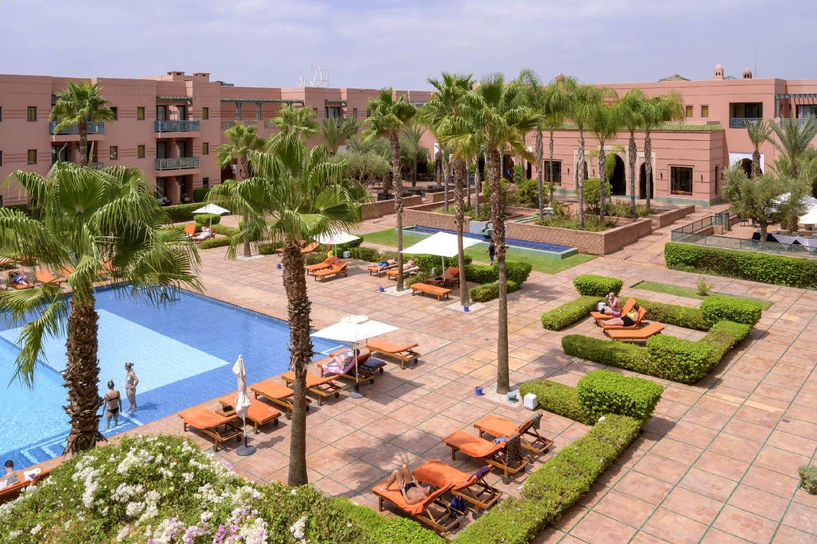 Les Jardins De L'agdal Hotel & Spa - 5* avec Les Jardins De L Agdal Hotel & Spa