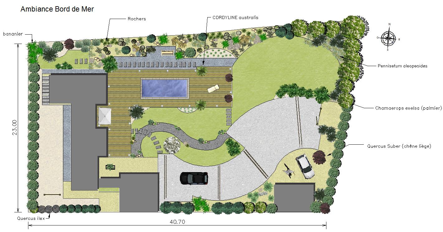 Logiciel De Plans Paysagers 2D Dao-Cao - Jardicad intérieur Créer Un Plan De Jardin Gratuit