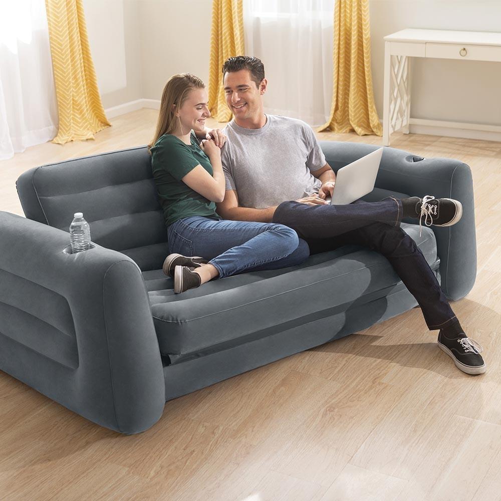Mobilier Gonflable Intex : Confortable, Pratique Et Design encequiconcerne Salon De Jardin Gonflable