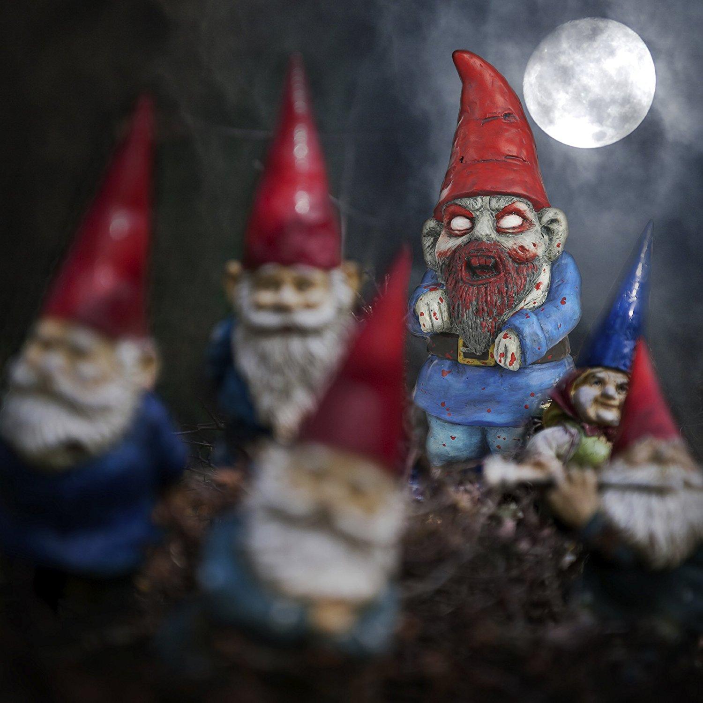 Nain De Jardin Zombie - Cadeau Zombie   Avant J'étais Riche dedans Nain De Jardin Zombie
