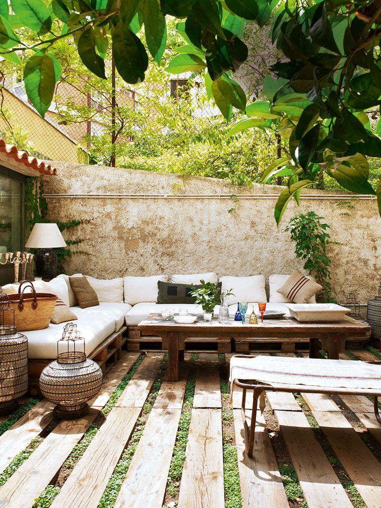 Nuevo Estilo Una Casa Llena De Sabor _1 | Salon De Jardin ... encequiconcerne Salon De Jardin Casa