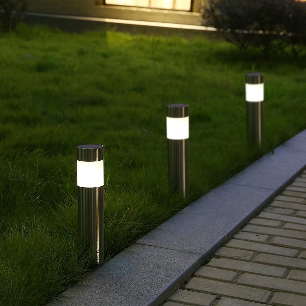 Petite Borne Solaire De Balisage Jardin - Lampe Solaire ... concernant Bornes Solaires Jardin