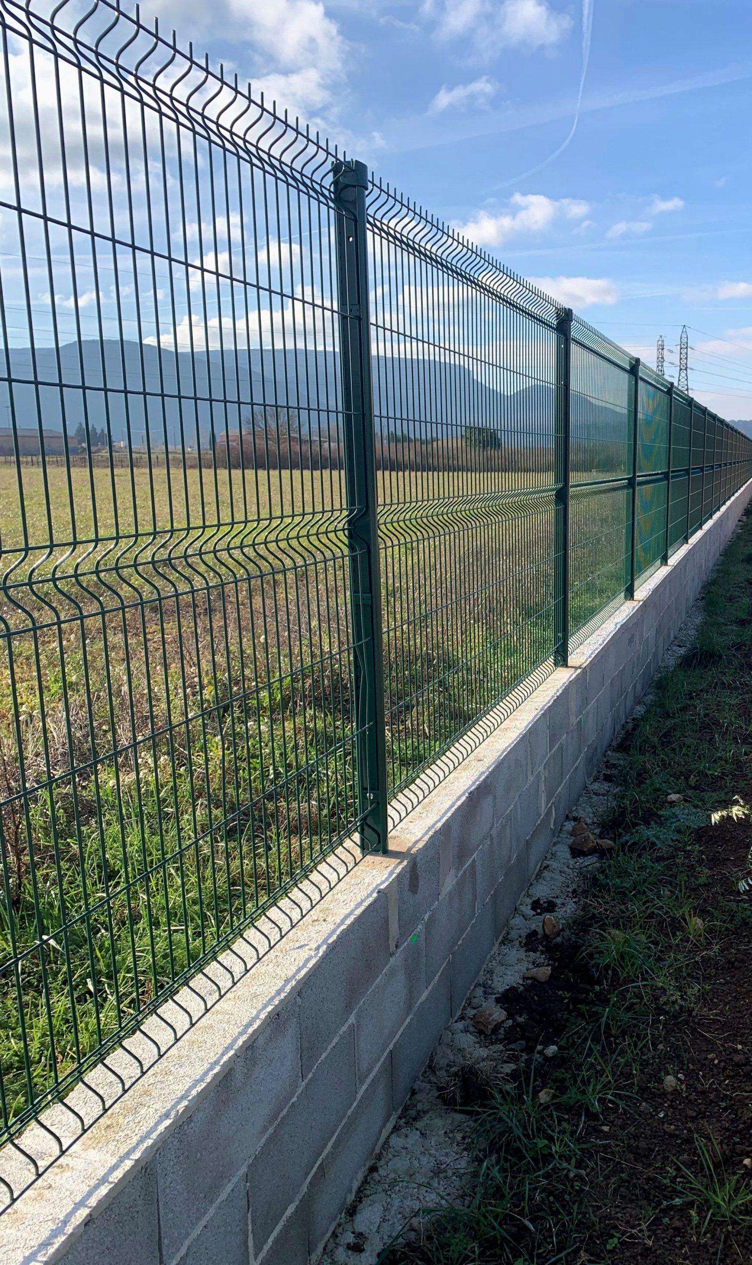 Prix Cloture Jardin Grillage Rigide Incroyables Portail & Cl ... avec Grillage De Jardin Rigide