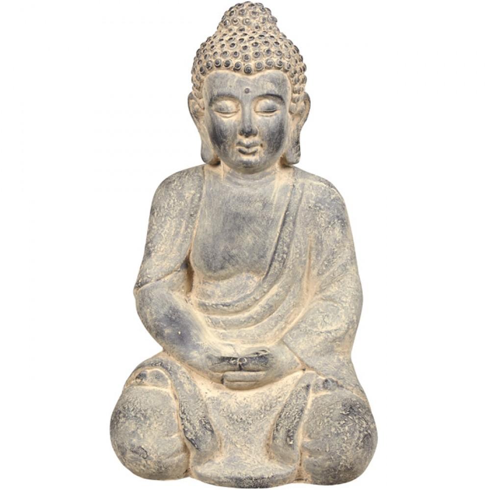 Statue Bouddha Assis Zen tout Statue Bouddha Exterieur Pour Jardin