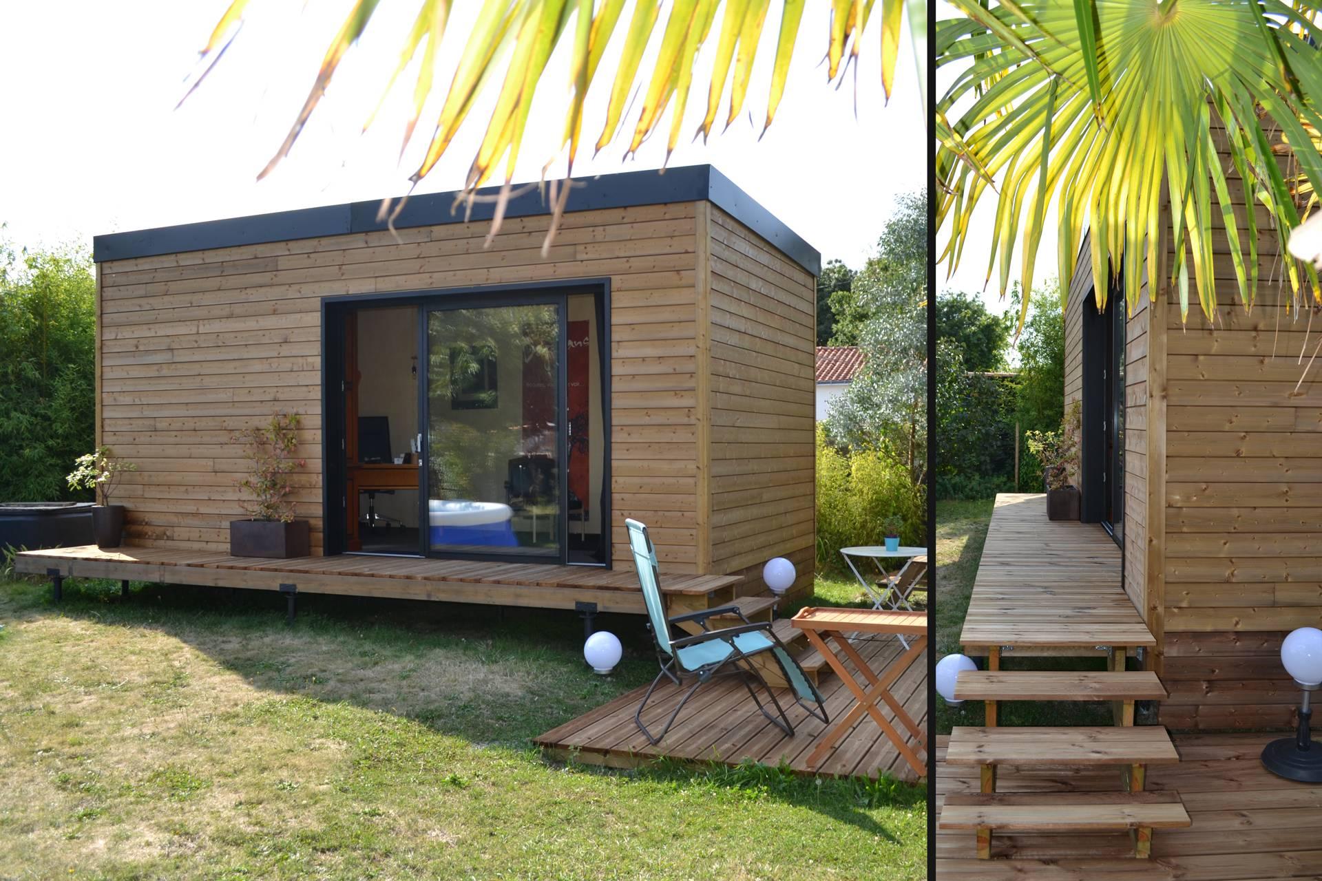 Studio De Jardin 20M2 : Permis De Construire Ou Déclaration ... intérieur Abri De Jardin Moins De 20 M2