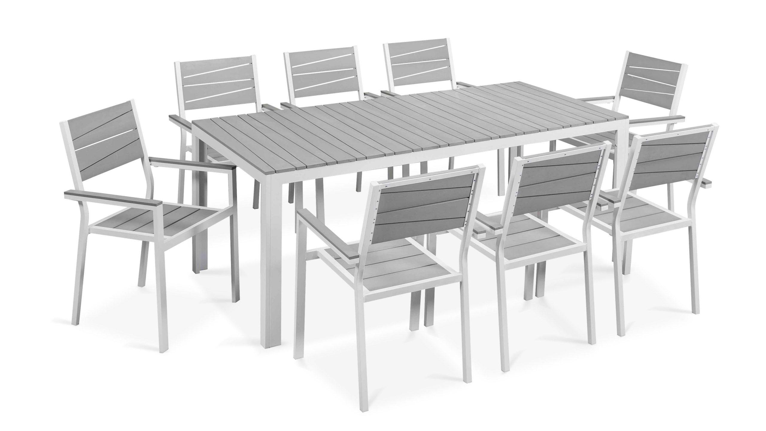 Table De Jardin 8 Places Aluminium Polywood intérieur Table De Jardin Design Pas Cher