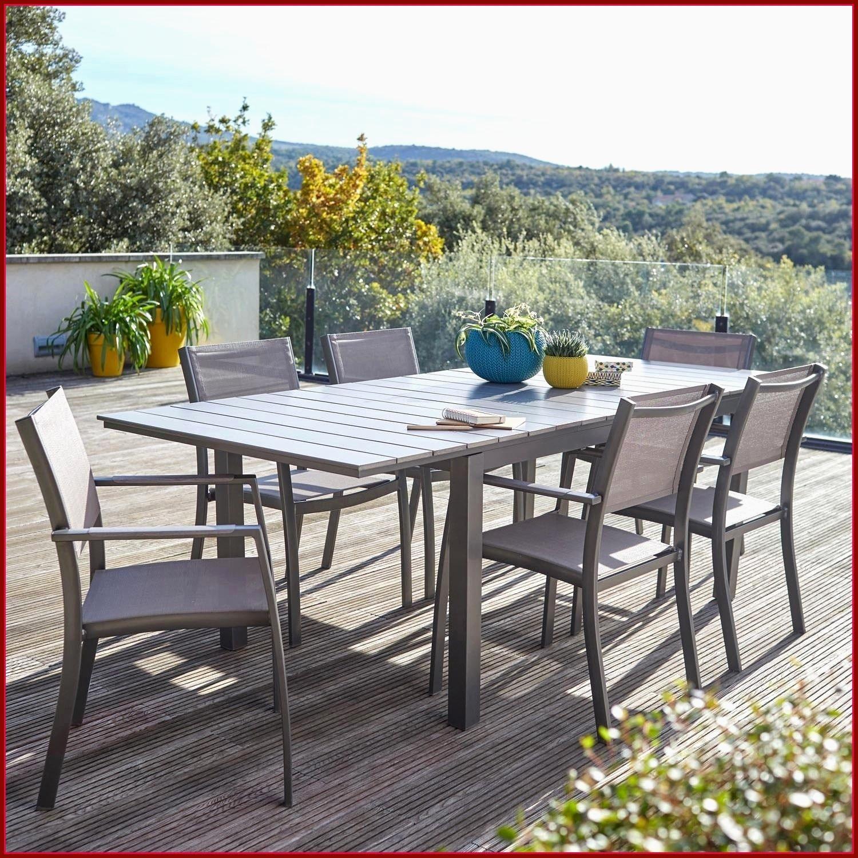 Table De Jardin Avec Rallonge Automatique Incroyables Salon ... serapportantà Salon De Jardin Hyper U