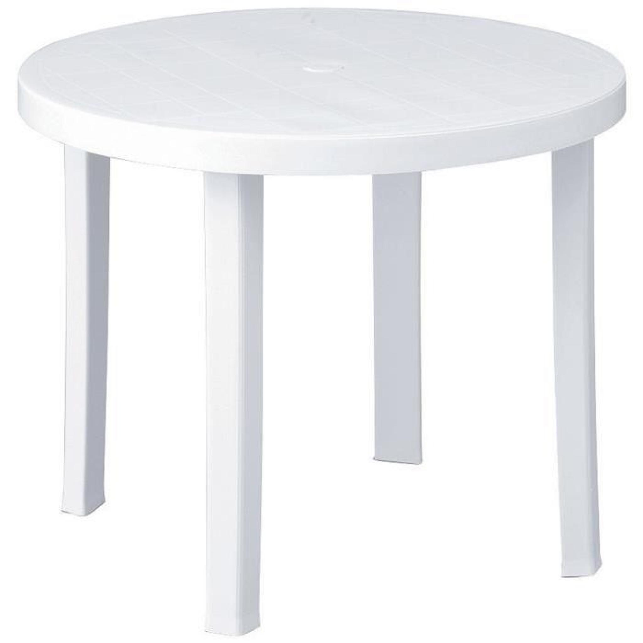 Table Ronde 90 Cm serapportantà Table Ronde Jardin Pas Cher