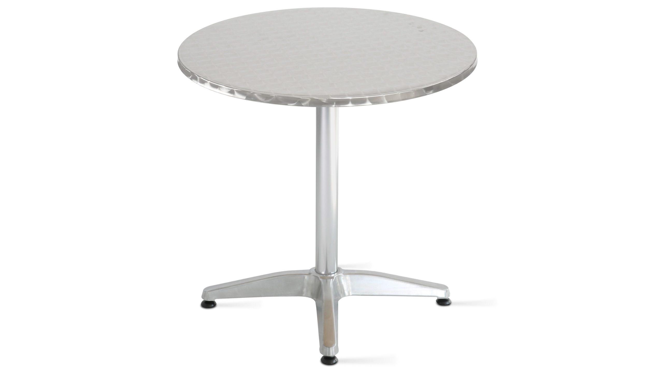 Table Ronde De Jardin En Aluminium avec Table Ronde Jardin Pas Cher