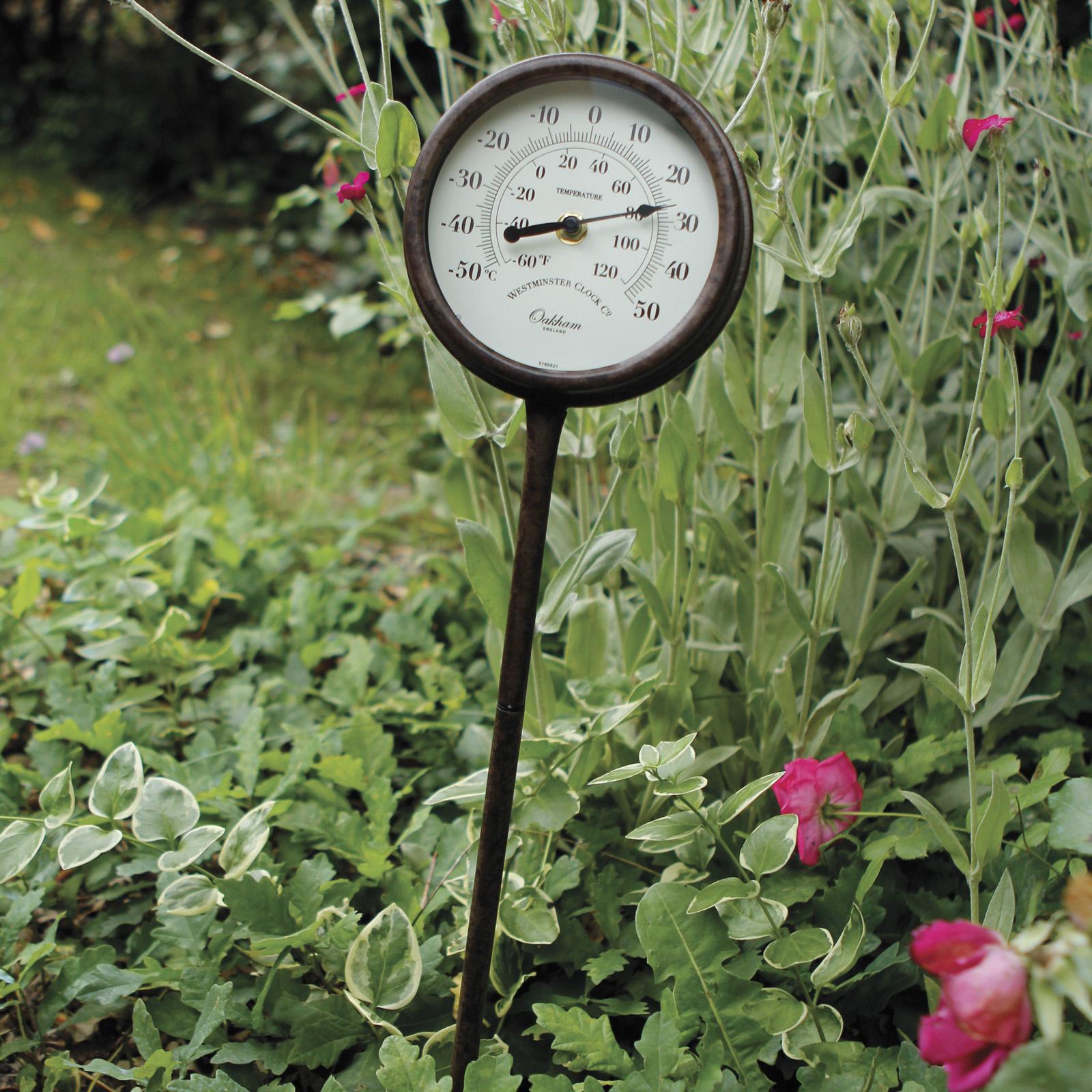 Thermomètre Kew Garden à Thermometre De Jardin