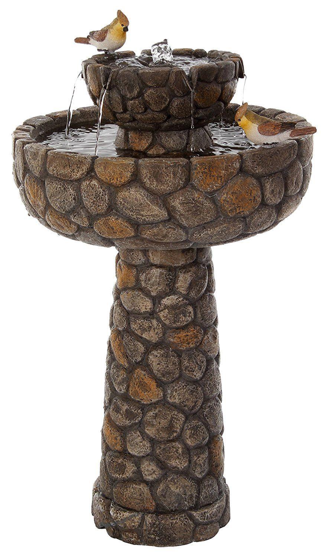 Une Jolie Fontaine Solaire Pour Jardin Zen En Extérieur ... pour Fontaine Solaire Exterieur Jardin