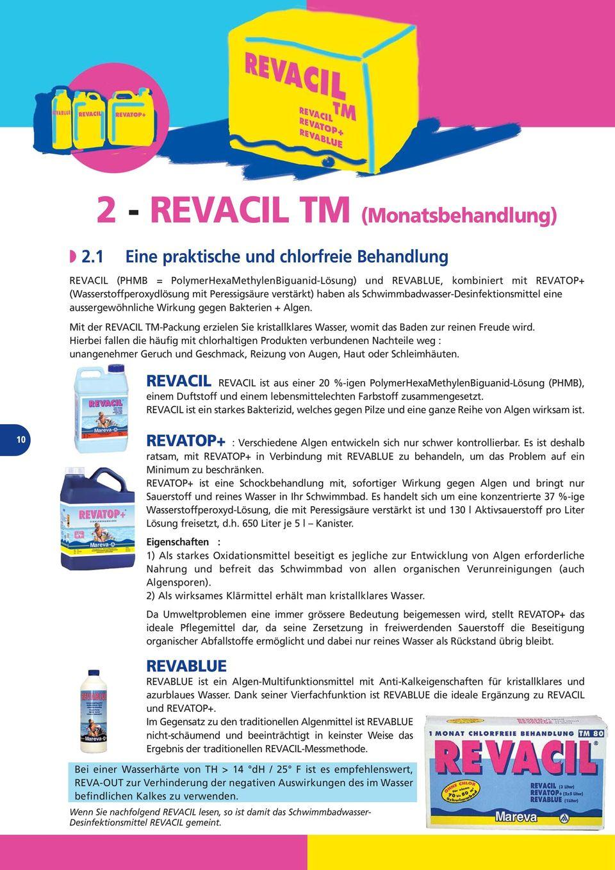 2 - Revacil Tm (Monatsbehandlung) - Pdf Free Download destiné Revatop