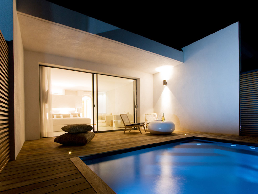 6 Superbes Hôtels Avec Piscine Privée Dans Votre Chambre En ... dedans Hotel Avec Piscine Privée France