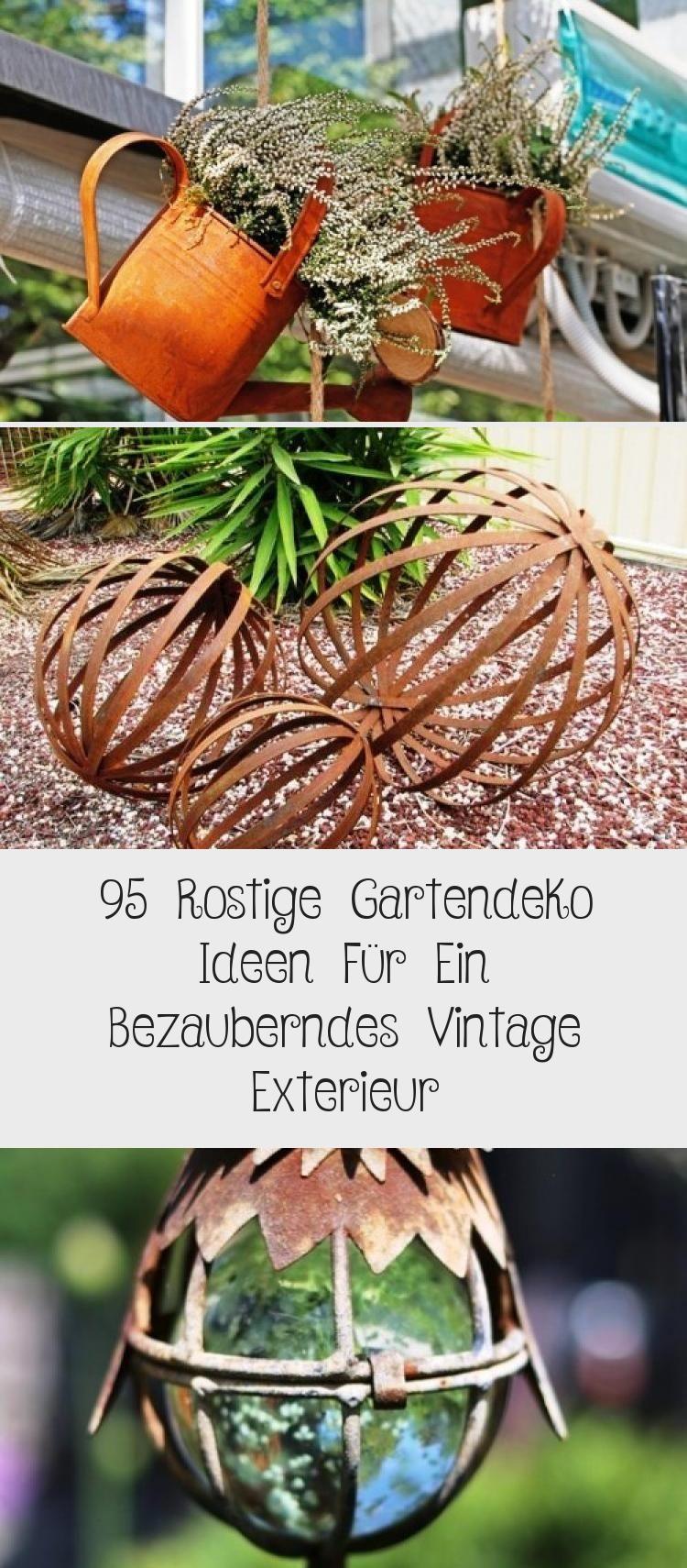 95 Rostige Gartendeko Ideen Für Ein Bezauberndes Vintage ... tout Lino Exterieur