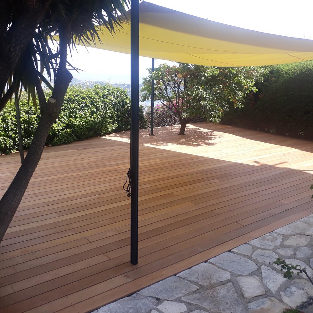 Aménagement De Terrasse Nice, Aménagement Extérieur Alpes ... à Terrasse Bois Nice