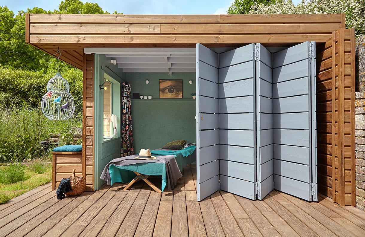 Aménager Une Cabane En Bois Au Fond Du Jardin | Maison Créative avec Cabane 5M2