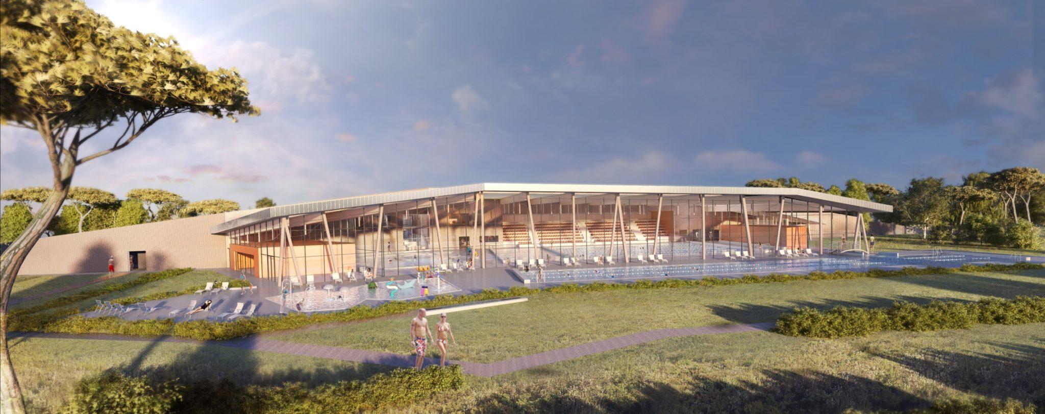 Après L'arena À Luynes, La Cpa Mise Sur Le Centre Aquatique ... destiné Piscine De Venelle