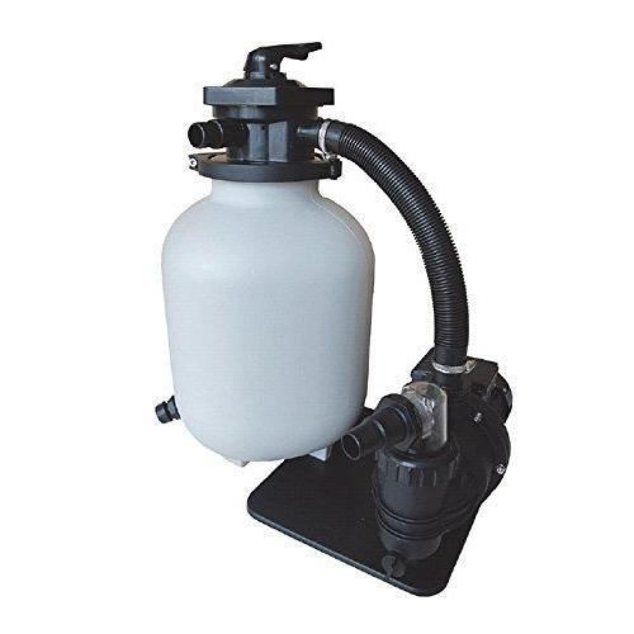 Aquaforte Filtre À Sable Kit Sq300De Junior Pour 35M Pompe Piscine, 7,5M/h,  250W encequiconcerne Filtre A Sable Piscine Pas Cher