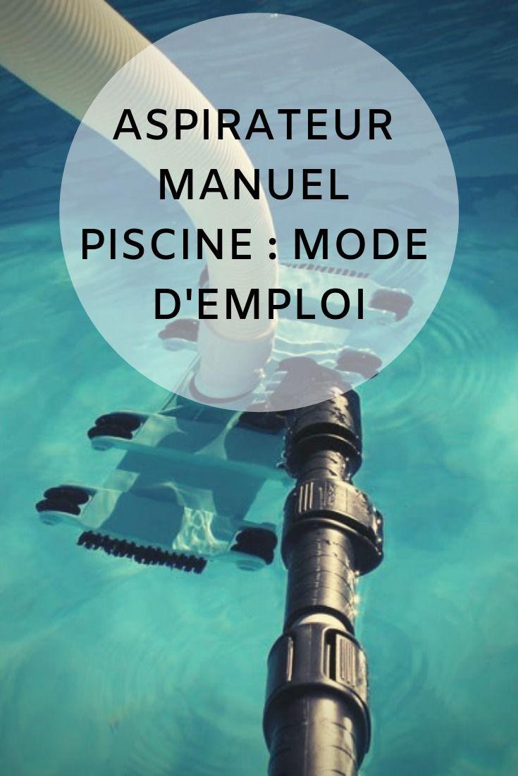 Aspirateur Manuel Piscine : Mode D'emploi ! - La Boutique ... serapportantà Aspirateur Piscine Manuel