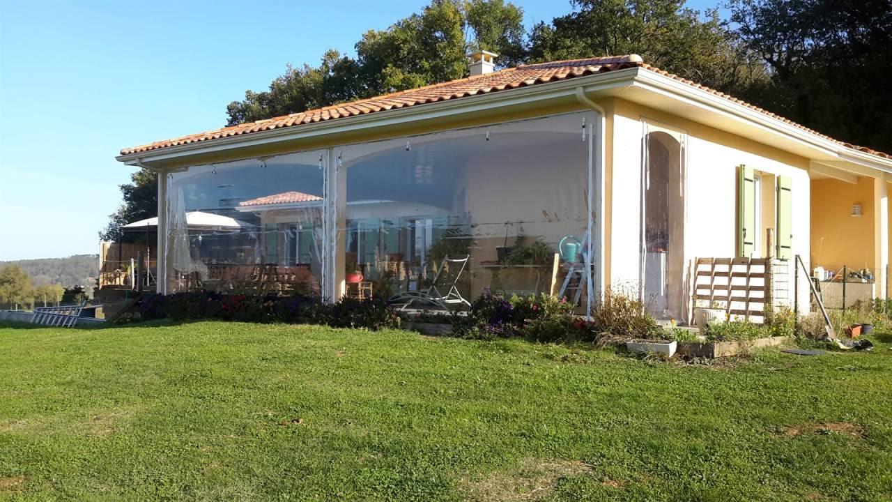 Bache Fermeture Terrasse Edavray 2016 - concernant Terrasse Couverte Fermée