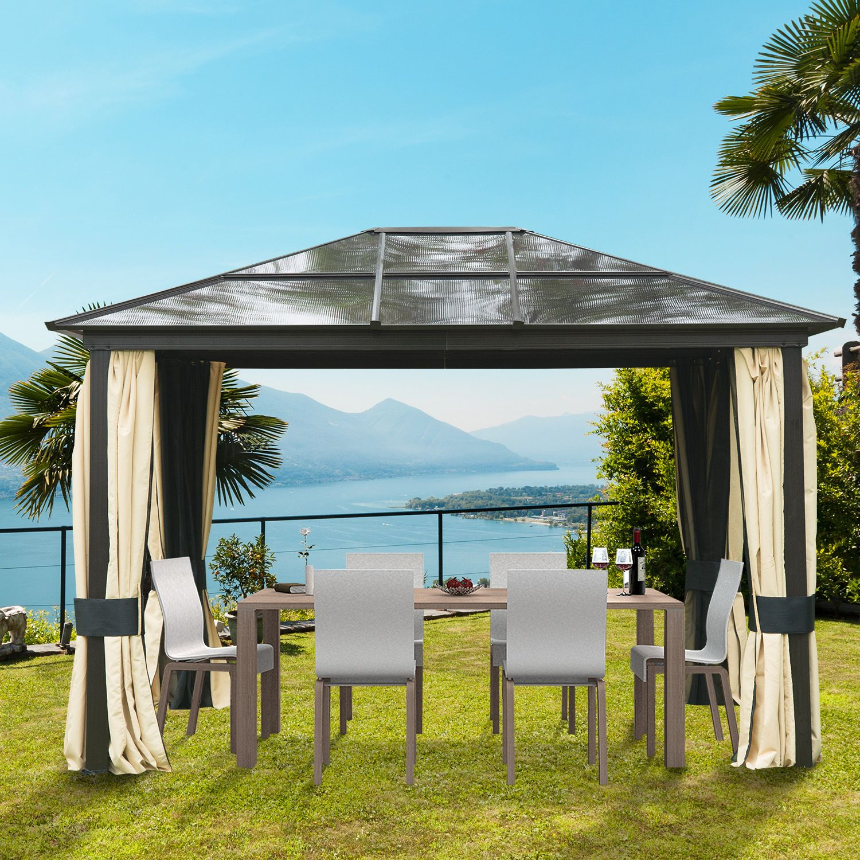 Bei Der Suche Nach Einem Luxus Pavillon Für Ihren Garten ... intérieur Pergola 3X5
