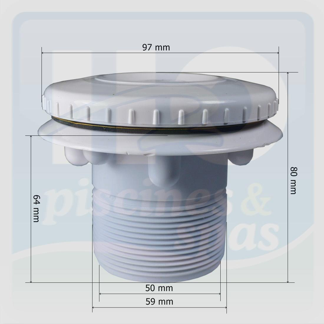Buse De Refoulement Orientable Hayward 3315 - H2O Piscines & Spas pour Refoulement Piscine