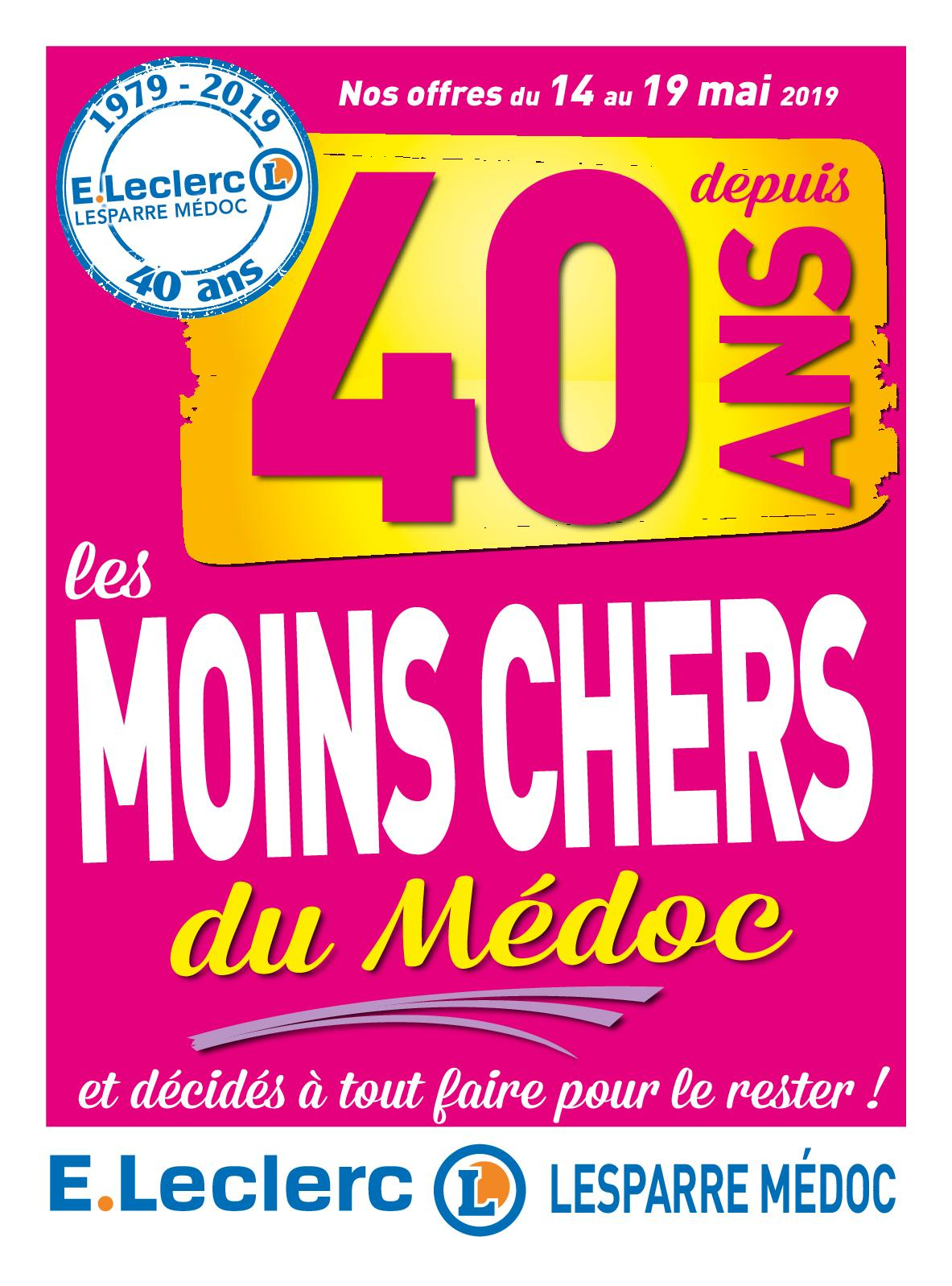 Calaméo - E.leclerc Lesparre Médoc - Catalogue 40 Ans tout Piscine Tubulaire Rectangulaire Leclerc