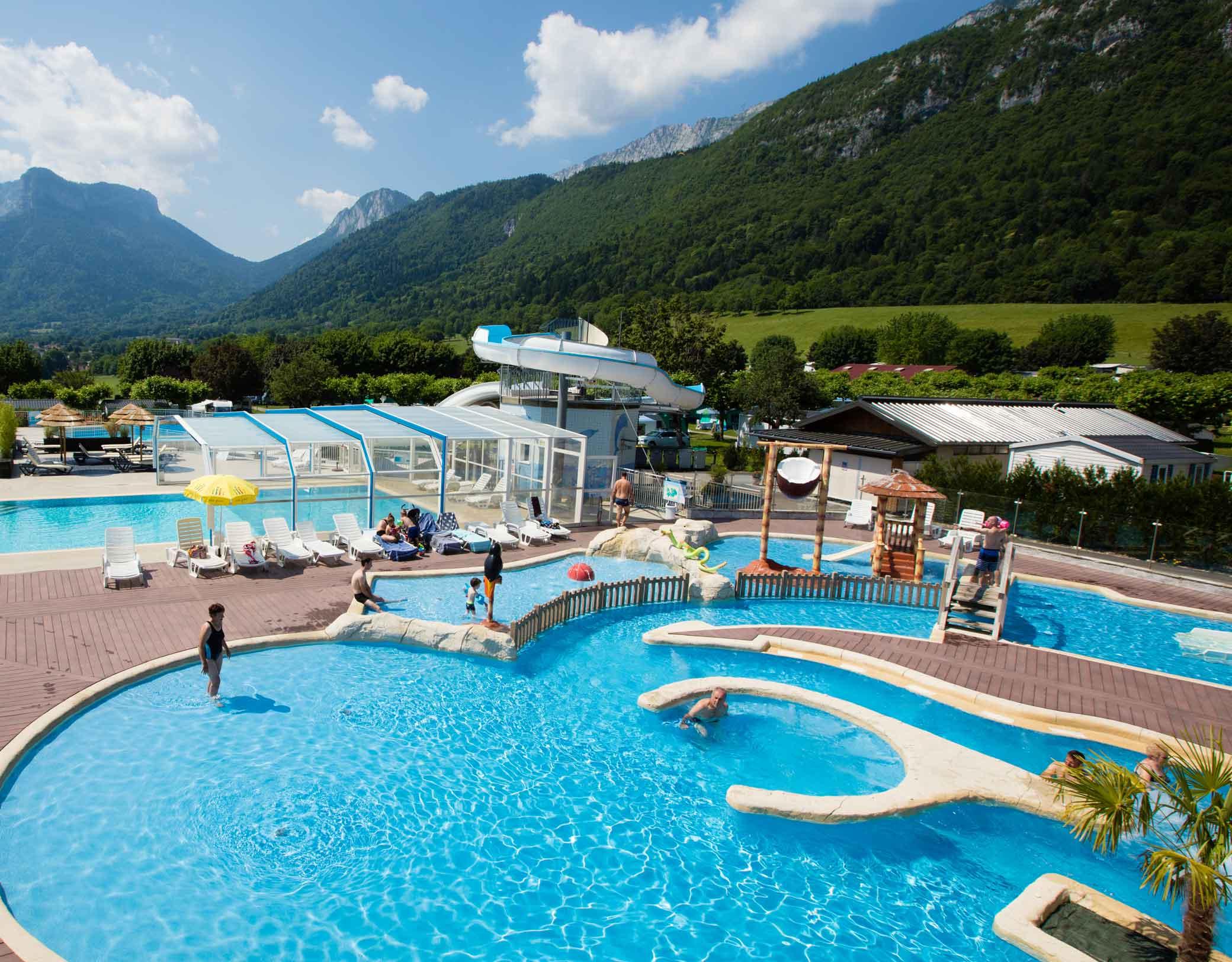Camping L'idéal - Savoie Mont Blanc (Savoie Et Haute Savoie ... intérieur Camping Chamonix Avec Piscine