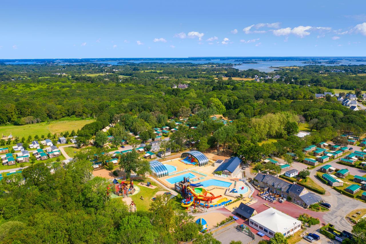 Camping Lodge - Camping Lodge, Camping Bretagne, Sarzeau ... pour Camping Sarzeau Avec Piscine