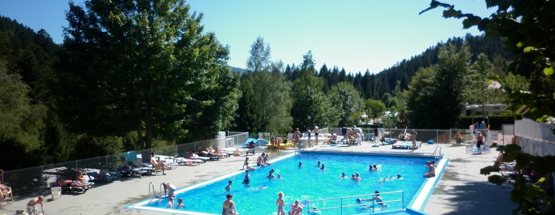 Camping Vosges Avec Piscine | Camping Belle Hutte 4* La Bresse intérieur Camping Dans Les Vosges Avec Piscine