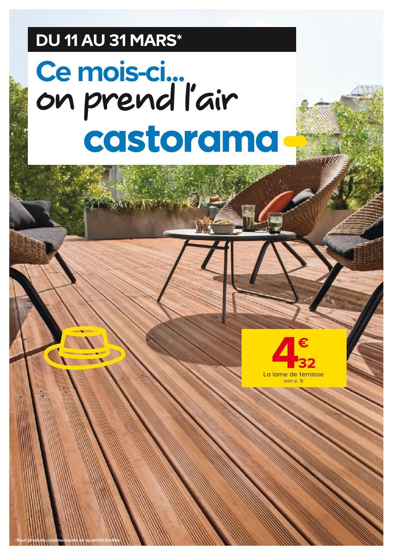 Castorama Catalogue 11 31Mars2015 By Promocatalogues - Issuu dedans Dalle Beton 100X100 Castorama
