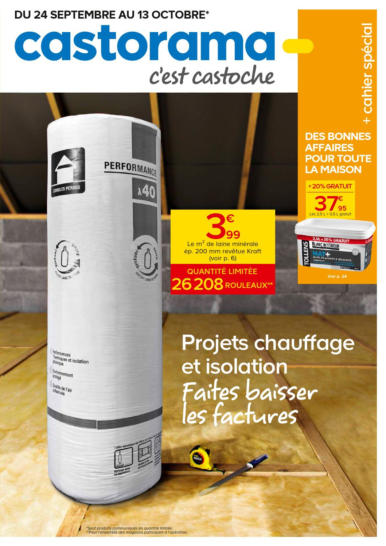 Castorama Catalogue 24Septembre 13Octobre2014 By ... à Rouleau Plomb Castorama