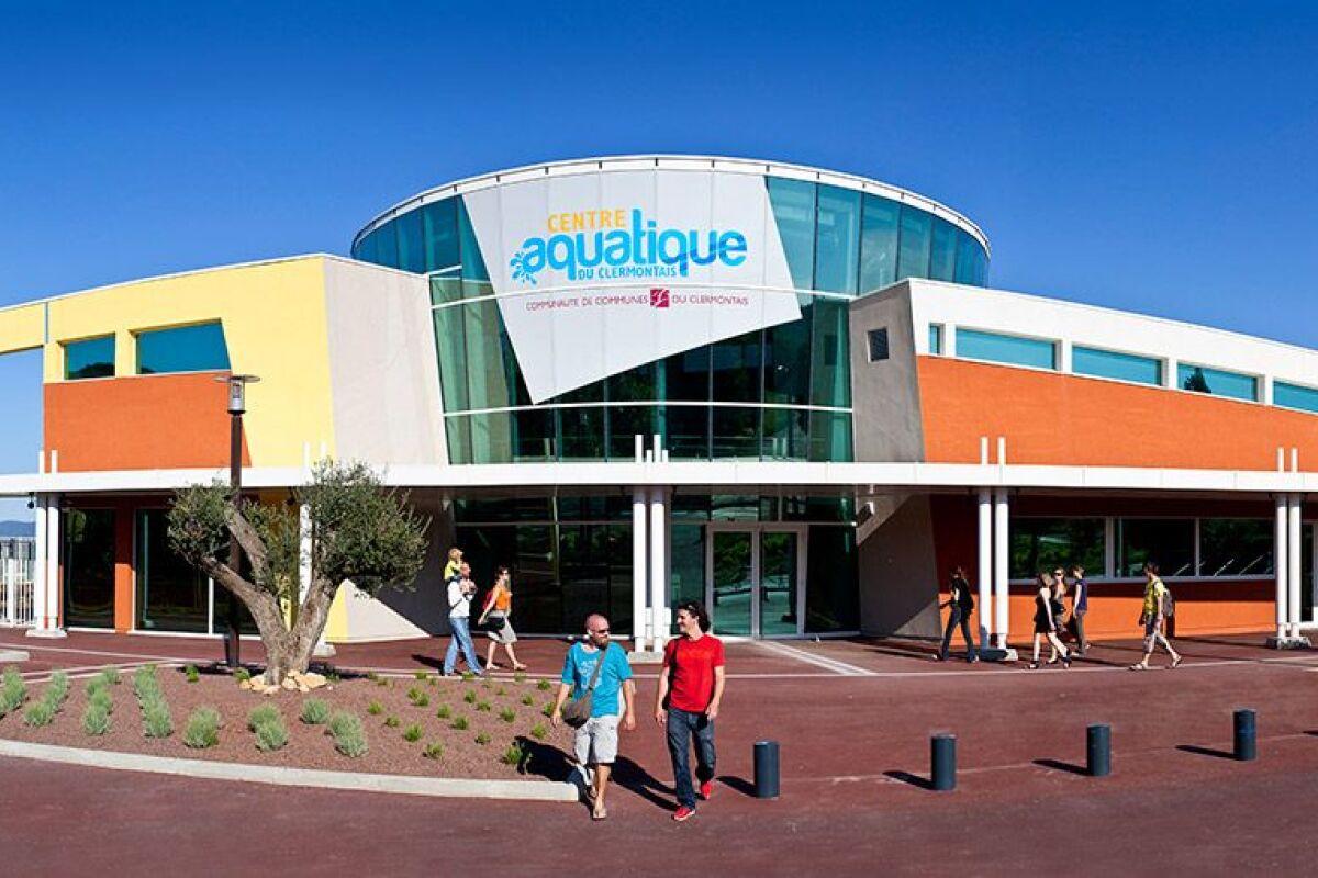 Centre Aquatique Du Clermontais - Piscine À Clermont L ... destiné Piscine Clermont L Hérault Horaires
