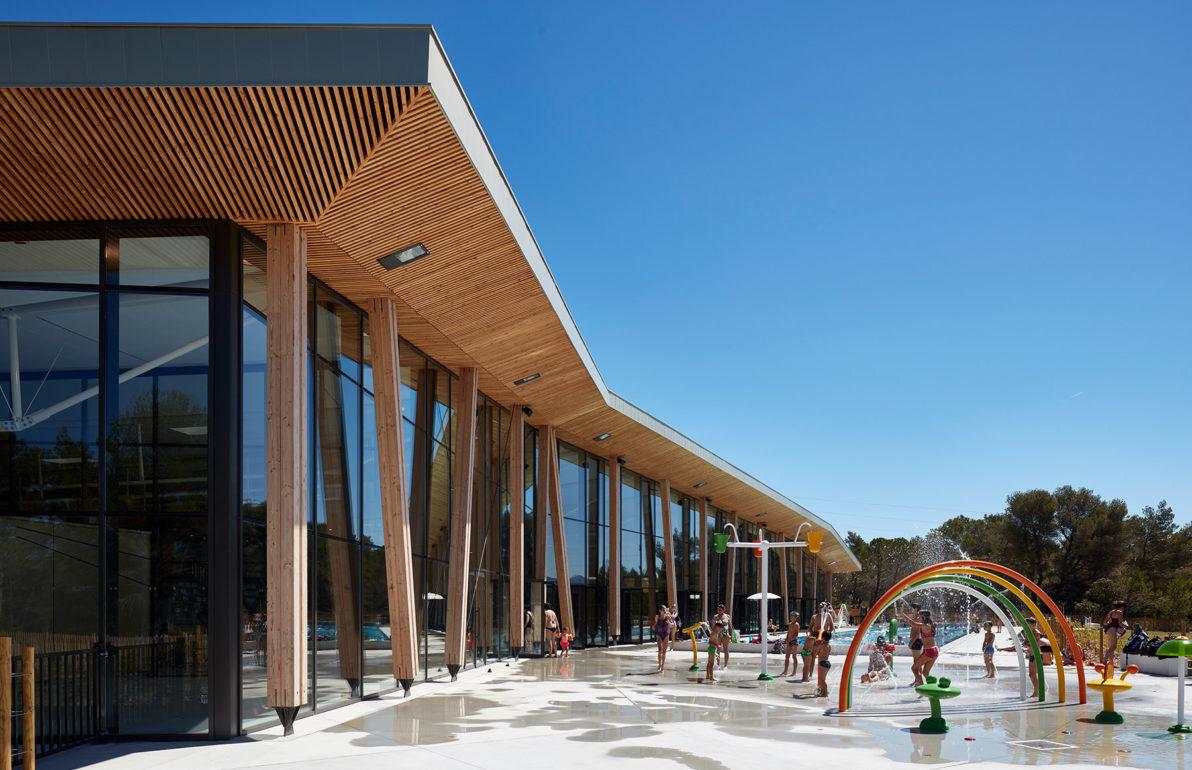 Centre Aquatique Sainte-Victoire De Venelles - Agence Chabanne concernant Piscine De Venelle