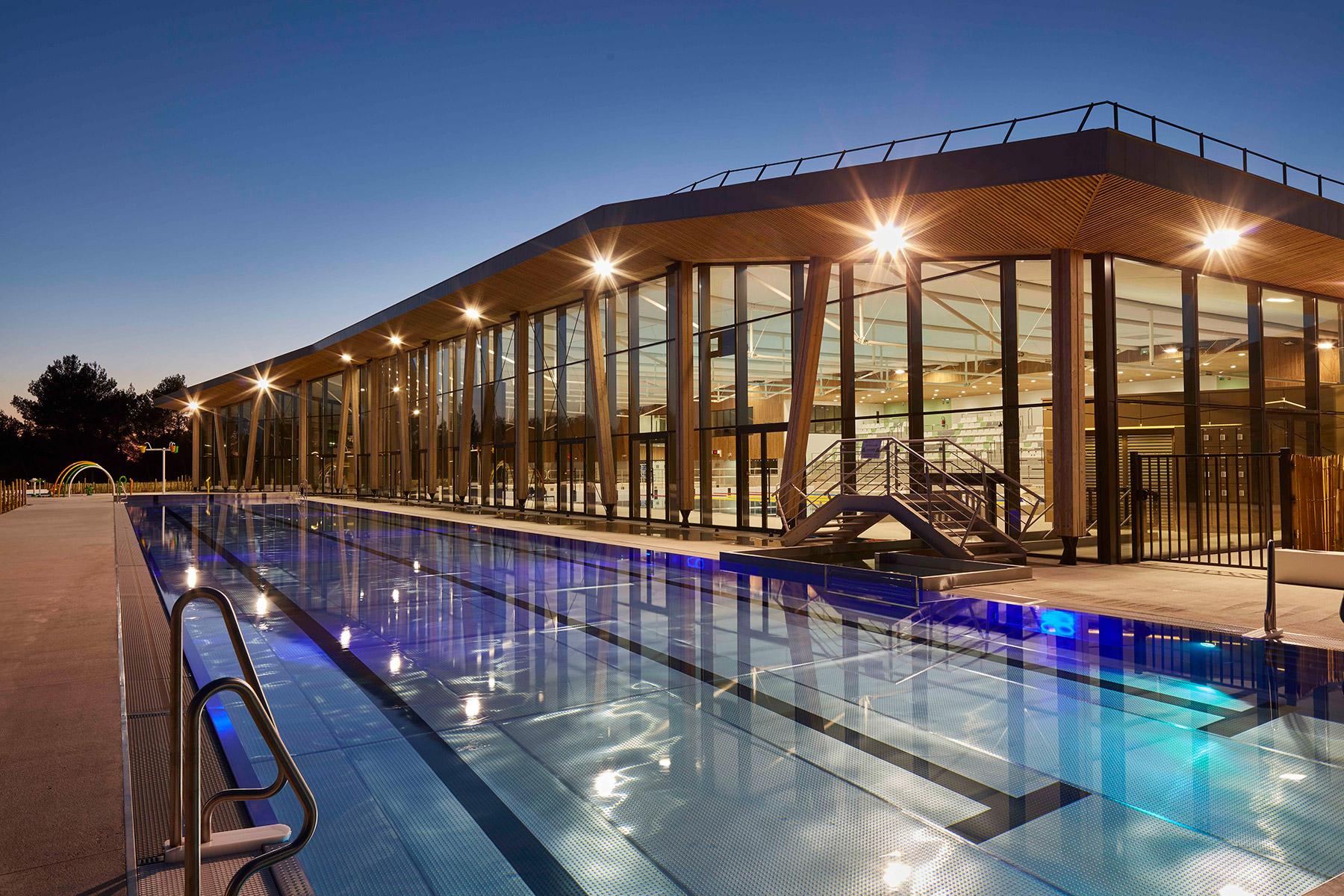 Centre Aquatique Sainte-Victoire De Venelles - Agence Chabanne destiné Piscine De Venelle