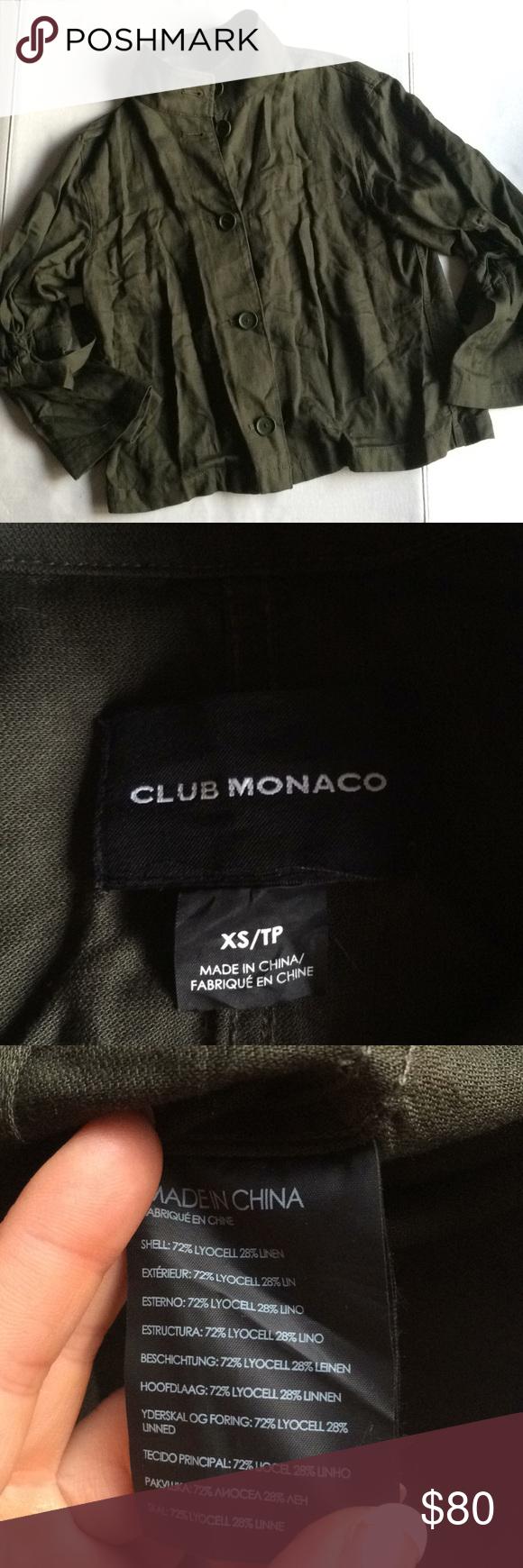 Club Monaco Hardy Jacket Sz. Xs | Clothes Design, Fashion ... à Lino Exterieur