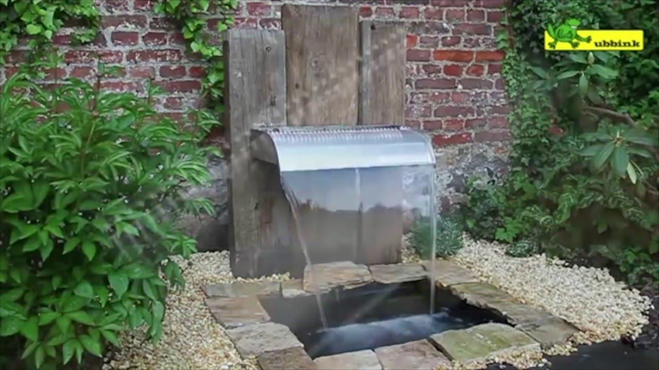 Comment Installer Une Fontaine De Jardin ? - Jardinerie Truffaut Tv serapportantà Fontaine De Jardin A Debordement